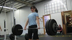 That's a heavy barbell.